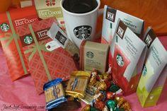 Starbucks and Chocolate, perfect #Gift idea