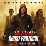Michael Giacchino - Mission Impossible: Ghost Protocol soundtrack CD cover