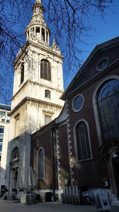 St Mary le Bow in the City of London