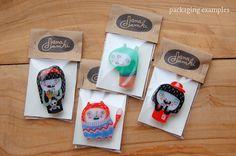 HELEN  shrink plastic brooch by danadamki on Etsy