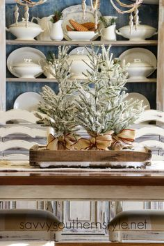 Savvy Southern Style ~ Christmas Dining