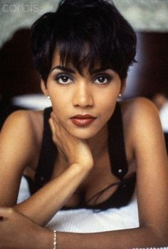 Halle Berry.She's pretty, but she's craaazy