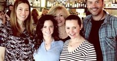 '7th Heaven' Reunion Photo Brings the Camdens Back Together -- '7th Heaven' stars Mackenzie Rosman, Beverley Mitchell, Barry Watson and Catherine Hicks reunited at co-star Jessica Biel's new L.A. restaurant. -- http://movieweb.com/7th-heaven-reunion-photo-camdens/