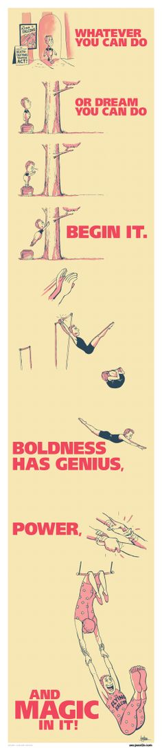 An act of boldness -- Artwork by Gavin Aung Than