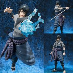 S.H.Figuarts Uchiha Sasuke Naruto Anime Figure Bandai Tamashii Web Limited Japan Now in stock! Buy it now at: stores.ebay.com.au/Figure-Central