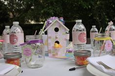 """Photo 1 of 30: Birds / Feathers / Nest / Baby Shower/Sip & See """"Sweet Tweet Baby Shower"""" 