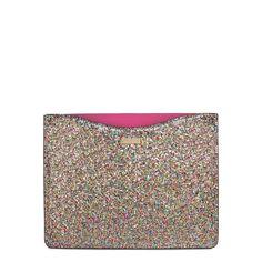 Kate Spade iPad sleeve #glitter