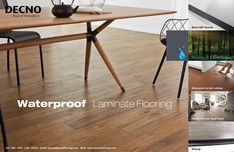 #Waterproof #laminate #flooring with the real wood feeling, water free characteristic.Large area installation over 400sqm without any moulding,will be your best choice.  sales@decnoflooring.com www.decnoflooring.com DECNO -- professional & reliable manufacturer of China