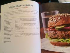 Black bean burgers from How Not to Die cookbook Vegetarian Diets, Meatless Recipes, Vegan Recipes, Plant Based Nutrition, Plant Based Diet, Plant Based Recipes, Plant Based Whole Foods, Veggie Burgers, Daily Meals