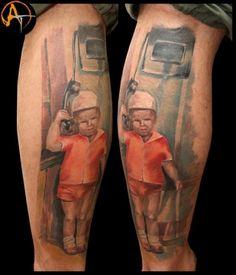 Realism tattoo on forearm by Evgeniy