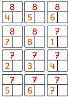 Risultati immagini per Zahlzerlegung 10 Kids Math Worksheets, Math Activities, Kindergarten Math, Teaching Math, Act Math, Montessori Math, Math Addition, Math Numbers, First Grade Math