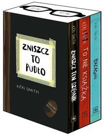 Pakiet na Mikołajki Zniszcz to pudło: Zniszcz ten dziennik / To nie książka / Bałagan-Smith Keri Books, Diy, Libros, Bricolage, Book, Do It Yourself, Book Illustrations, Homemade, Diys