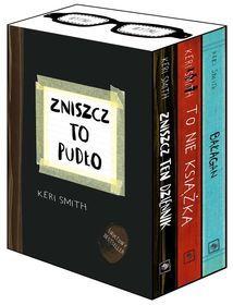 Pakiet na Mikołajki Zniszcz to pudło: Zniszcz ten dziennik / To nie książka / Bałagan-Smith Keri