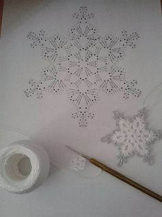 Everything you need to know about crochet star patterns - Suzy& Fashion - - Crochet Star Patterns, Crochet Snowflake Pattern, Crochet Stars, Christmas Crochet Patterns, Crochet Snowflakes, Thread Crochet, Crochet Motif, Crochet Doilies, Crochet Flowers