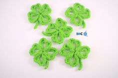 17 Adorable Crochet Patterns For St. Patrick's Day - Dabbles & Babbles