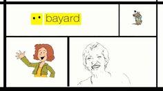 """""""Pour découvrir ce qui se cache vraiment derrière ces fonctions et ces métiers, Bayard Jeunesse (en collaboration avec le Clemi et le WebPedagogique) a réalisé une série de vidéos éducatives qui donnent la parole aux membres des rédactions d'Astrapi (7-11 ans) et Okapi (10-15 ans)""""  Le directeur artistique"""