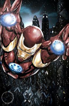 Iron Man by Jon Hughes