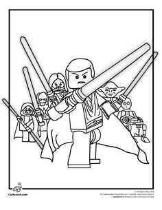 Lego Coloring Pages Lego Star Wars Coloring Page – Cartoon Jr.  @Jamie Inzerillo, if only Phillip had this when he was little!