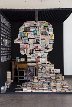 A-MAZING! Interactive book installation byNAMwithNumabooks