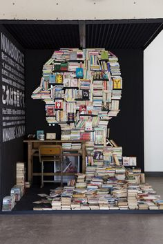 A-MAZING! Interactive book installation by NAM with Numabooks