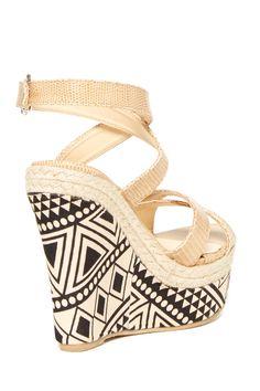 Bucco | Rosamond Wedge Sandal