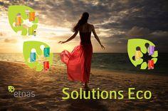 """une série de packs judicieusement élaborés pour vous, sur mesure, composés de 3 produits Etnas pour répondre à vos besoins spécifiques...  Six packs """" Solution Eco"""" sont disponibles :"""