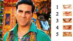 Let's have some fun. Can you guess Akshay's perfect smile?