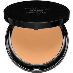 bareMinerals bareSkin PERFECTING VEIL (81 BRL) ❤ liked on Polyvore featuring beauty products, makeup, face makeup, bare escentuals, bare escentuals makeup, mineral makeup, bare escentuals cosmetics and mineral cosmetics
