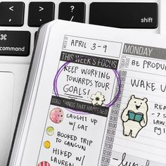 Our week's focus: Keep working towards our goals! 😉🙌✨ - Don't give up #Pashfam! There's still so much to accomplish! 😁💪 - #passionplanner #focus #plannercommunity #plannerinspiration #stickers #stationary #stationaryaddict