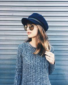 Vocês não acham que supervale um relançamento desse chapéu? Pra mim, se apareceu lá no Pinterest e tem a ver comigo, eu já tô desejando fortemente!