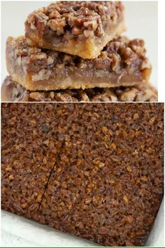 10 Most Misleading Foods That We Imagined Were Being Nutritious! These Maple Pecan Pie Bars Are Sweet, Salty, Crunchy And Gooey They Taste Like The Best Pecan Pie Ever. Maple Pecan Pie, Best Pecan Pie, Pecan Pie Bars, Cherry Desserts, Desserts For A Crowd, Fun Desserts, Pecan Recipes, Sweets Recipes, Pie Recipes