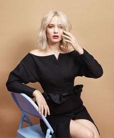 Jennifer Lawrence for Harper's Bazaar US by Mario Sorrenti