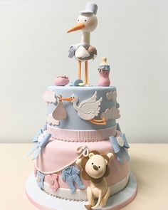 Baby Shower Cake Mould Getting ready for your Baby Shower? Make the best cake decor for your cake! Torta Baby Shower, Tortas Baby Shower Niña, Baby Shower Cakes Neutral, Baby Shower Cakes For Boys, Shower Baby, Baby Cakes, Baby Reveal Cakes, Baby Birthday Cakes, Girl Cakes