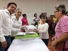 Entrega gobierno municipal de Aquiles Serdán 360 paquetes de útiles escolares