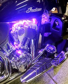 The Adventures of Stormy and her bike with bling (lighted side)