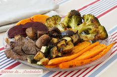 Cómo hacer verduras al horno. ¡Todos los trucos para un resultado de 10! Tasty, Yummy Food, Pot Roast, Beef, Ethnic Recipes, Instagram, Shape, Amor, Baked Squash