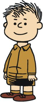 Shermy was one of the three earliest characters to appear the strip, appearing in the very first strip on October 1, 1950. However, he was not given a name until December 18, 1950. His major physical characteristic is his short dark hair, usually worn in a crew cut. In the early years of the strip, there were hints that he had a relationship with Patty.