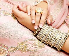 Pink & Gold Ethnic Wear