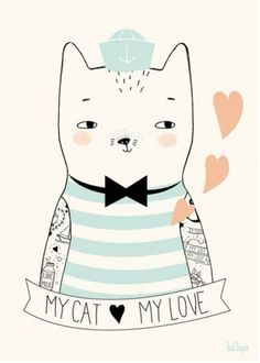 Artprint illustrated by Tad Lapin : shop @petitelouise   Seen on HappyMakersBlog.com #hetpapieratelier