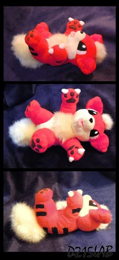 Growlithe plush by d215lab on deviantART