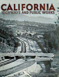 Arroyo Seco Parkway, 1941