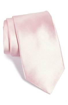 Solid Satin Silk Tie (X-Long)