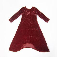 a403868cf04df8 Girls Rust Crushed Velvet Sidetail Maxi Dress Little Fashionista, Cold  Shoulder Dress, Sleeves,. Liberty Lark LLC