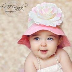 74371949a5e What an adorable baby sun hat from melondipity.com. Great for the beach and