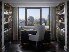 Royal Suite at InterContinental London Park Lane, designed by HBA/Hirsch Bedner Associates