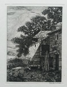 Andree Belcour : Un Coin De Franche Comte (apres coindre) (1874)