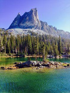 El Capitan Alice Lake Sawtooth's-Susan Meldrum Sawtooth Mountains, Vacation List, Amazing Nature, Idaho, Landscapes, Scenery, Alice, Canada, Adventure