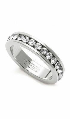 Coach Pave Band Ring ♥