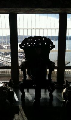 Wishing chair at the Smith tower observation deck, Seattle, WA. I sat in this... I even got what I wished for. kjo