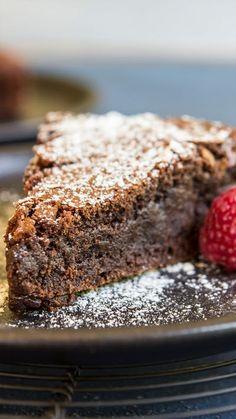 Chocolate Brownie Cake ~ Recipe | Tastemade